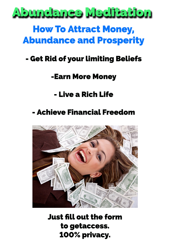 Abundance Meditation How to attract money